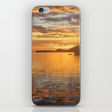 Sunrise on the Sea of Cortez. iPhone & iPod Skin