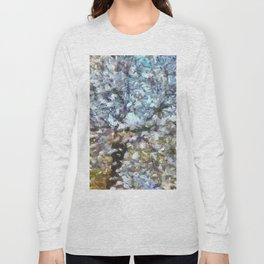 Spring Almond Blossom Long Sleeve T-shirt