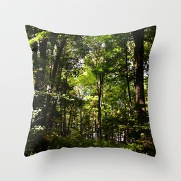 Forest // Adventure Sometime  Throw Pillow