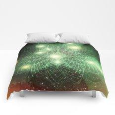 Geometry Dreaming Comforters