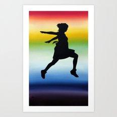 Body Movin - Jump Art Print