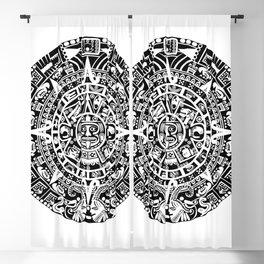 Mayan Calendar Blackout Curtain