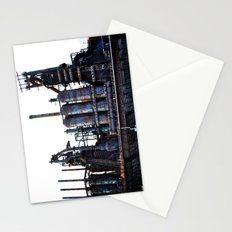 Bethlehem Steel Blast Furnace 2 Stationery Cards