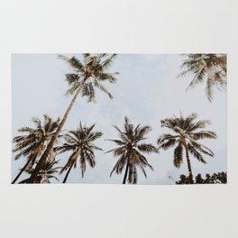 palm trees xiv / chiang mai, thailand Rug