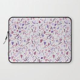 Jewel Pink Watercolour Terrazzo Laptop Sleeve