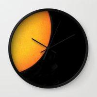 hawaiian Wall Clocks featuring Hawaiian Sun by Effie Dee