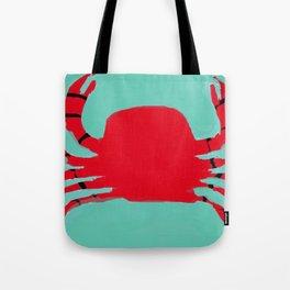 The Faceless Crab Tote Bag