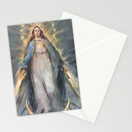 Our Lady of Graces. The Miraculous Medal II Stationery Cards