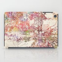 phoenix iPad Cases featuring Phoenix  by MapMapMaps.Watercolors
