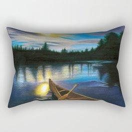 Midgard By Boat Rectangular Pillow