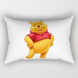 pooh bear characters Rectangular Pillow