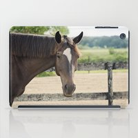 charlie iPad Cases featuring Charlie by Images by Nicole Simmons