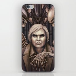 Giger Portrait iPhone Skin