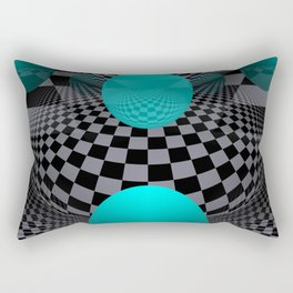 3D - abstraction -113- Rectangular Pillow