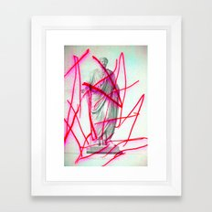 Strike 19 Framed Art Print