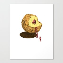 Life in a Nutshell Canvas Print