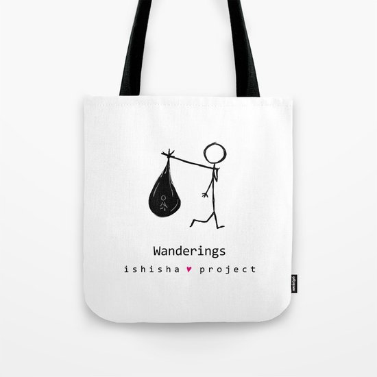 WANDERINGS by ISHISHA PROJECT Tote Bag