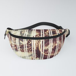 Vintage Old Compass Fanny Pack