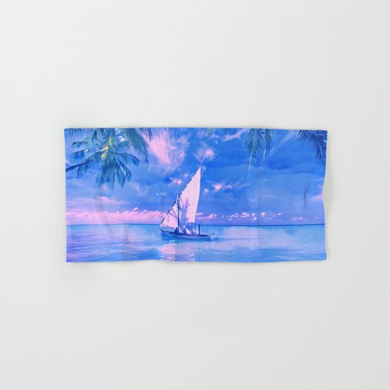 Tropical yachting Hand & Bath Towel
