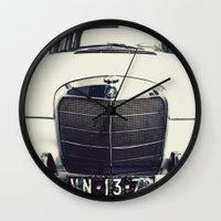 mercedes Wall Clocks featuring Benz by farsidian