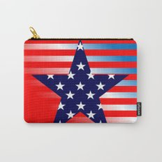Patriotic American Symbols  Carry-All Pouch