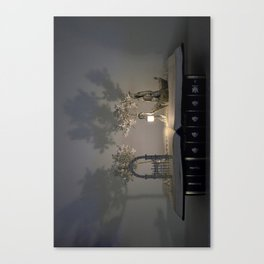 Charon and the door to a world of dreams Canvas Print