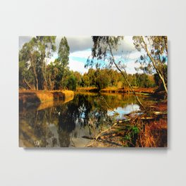 Reflective Light Metal Print