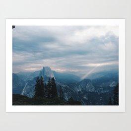Yosemite Sun Break Art Print