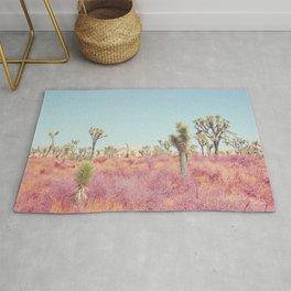 Surreal Desert - Joshua Tree Landscape Photography Rug