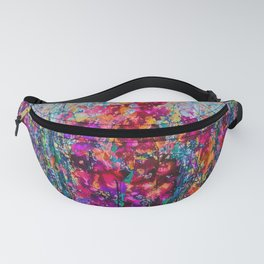 Inhale Love Pollock Inspired Abstract Fanny Pack