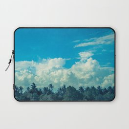 Clouds and Palmtrees Laptop Sleeve