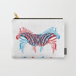 Que Zebra Zebra Carry-All Pouch