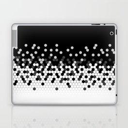 Flat Tech Camouflage Black and White Laptop & iPad Skin