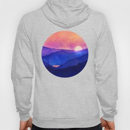 Cobalt Mountains Hoody