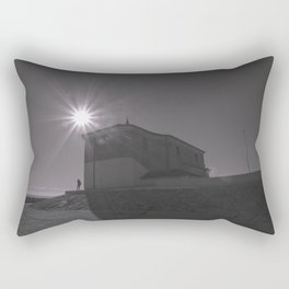 A church (against the sun) Rectangular Pillow