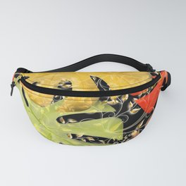 PALM LEAF BOUNTY AUTUMN SPLENDOR Fanny Pack