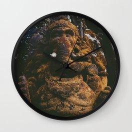 Stoned elephant 2 Wall Clock