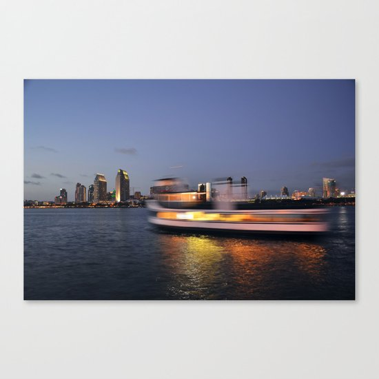 Motion Blur Canvas Print
