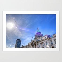 Custom House - Dublin Art Print