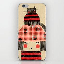CAT & HAT iPhone Skin