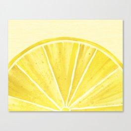Lemony Goodness Canvas Print