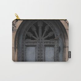 Gothic Door at Pere Lachaise Cemetery Paris Carry-All Pouch
