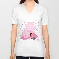 steven universe V-neck T-shirts featuring Steven Universe by Vivian Lindemberg Arcila