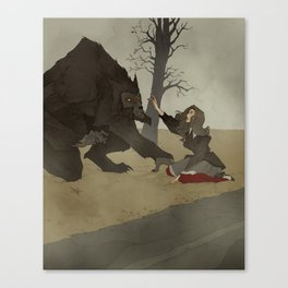 The Beast of Bray Road Canvas Print