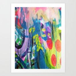 Free Expression Art Print