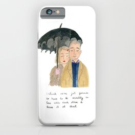 Margot and Richie iPhone Case