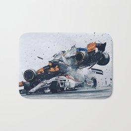Formula One Crash Bath Mat