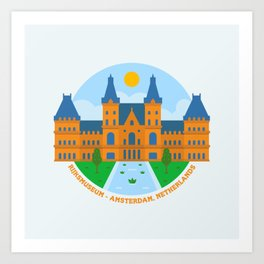 Rijksmuseum Art Print