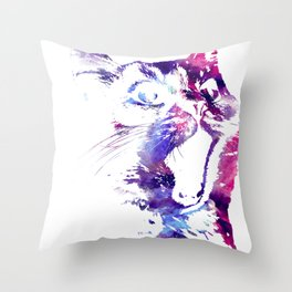 Safari Kenya Elephant Gift Africa Big Game Throw Pillow