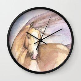 Pink Pony Wall Clock